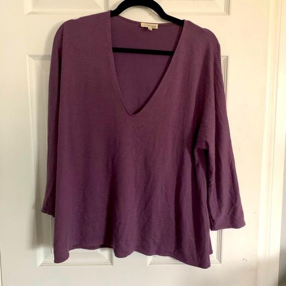 Purple Wilfred Free long sleeve shirt